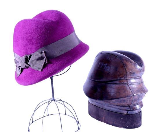 Purple Fedora Hat