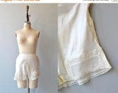 25% OFF SALE Laced Tap pants | vintage 1940s silk tap pants | lace leg silk shorts