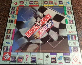 NASCAR Monopoly Game Board