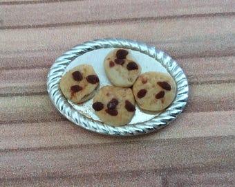 Handmade Half Scale Tray of Cookies