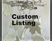 Custom ffor Yvette
