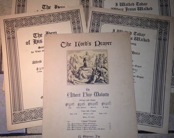 Instant Collection of Religious Sheet Music (2)
