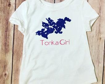 Tonka girl tee, lake Minnetonka girls t-shirt
