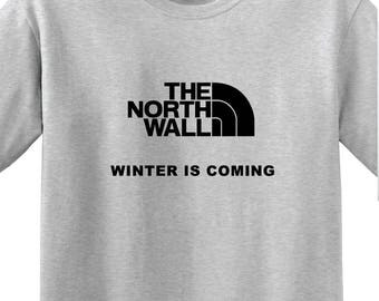 """Game of Thrones - """"The North Wall"""" -Unisex t-shirt"""