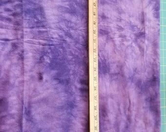 Cotton Knit Purple Tye Dye Print aprox 2yd