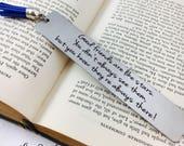 Good Friends are Like Stars, Bookmark, Metal Bookmark, Engraved Bookmark, Engraved, Books, Book, Gift, Reader