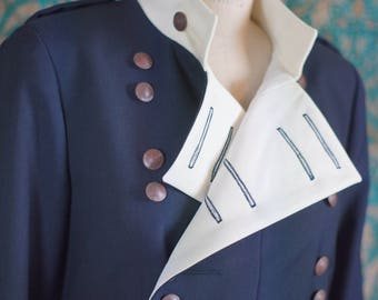 Custom Military Tailcoats---Regency, Victorian, Steampunk