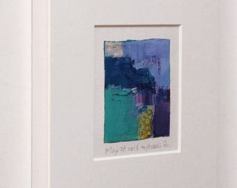"""Original Frame for your 9x9 painting (9 cm x 9 cm - app. 4"""" x 4"""") - Frame size 22.7 cm x 22.7 cm (8.9"""" x 8.9"""")  no glass"""