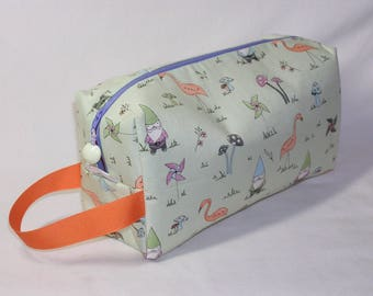 Garden Gnomes Project Bag