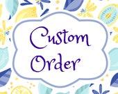 Custom Order for Ambrosia