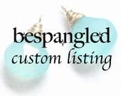 Custom birthstone charm set