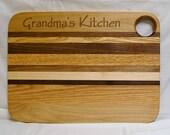 Custom Large Engraved Cutting Board