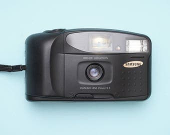 Samsung FF 222 Compact Point and Shoot 35mm Film Camera