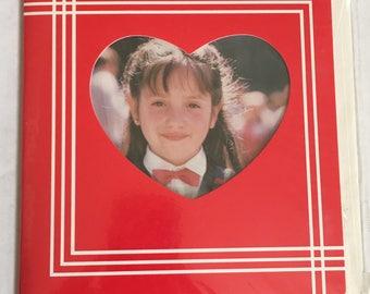 Vintage Valentine's Day Card Photo Album Holds 8 photos Brand New NOS Pioneer