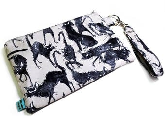 Spooky Black Cat Clutch Bag