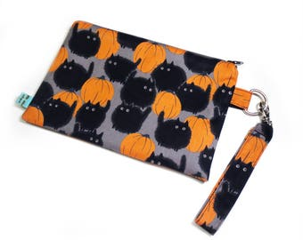 Pumpkin Patch Clutch Bag