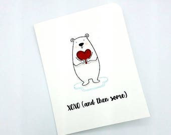 Love Card/I Love You/Thinking of You/Love/Hugs and Kisses/Card for Him/Just Because Card/Miss You/Anniversary Card/Heart/Valentines Day
