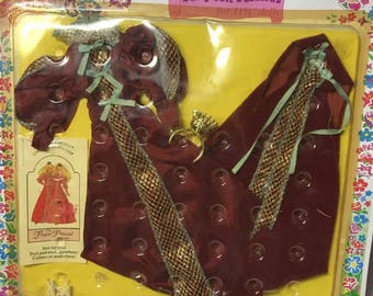 Vintage rare Creata Flower Princess doll fashion