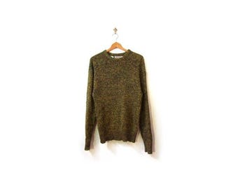 30% OFF Vintage 80s Unisex Oversized DIJON Mustard Grunge Knit Sweater women S-L men s-m minimalist vestiesteam preppy retro cosby kids ski