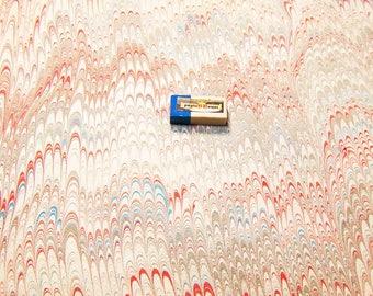 marbled paper, carta marmorizzata, decorative papers,. -  E884