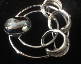 Vintage Sterling Silver Brooch