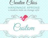 Custom for Carol S / Disney tsum tsum fabric for bodice and upper and lower skirt in tsum fabrics.