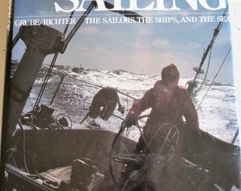 On SALE Vintage 1979 The Big Book of Sailing Coffee Table Book