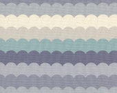 Cotton + Steel - Panorama Collection - Scallops in Arctic
