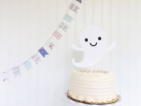 Halloween Ghost Cake Topper