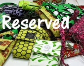 Reserved Listing for Pickles - 3 Zipper pouches
