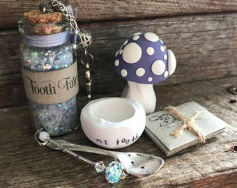 Tooth Fairy Kit - Vintage Plum