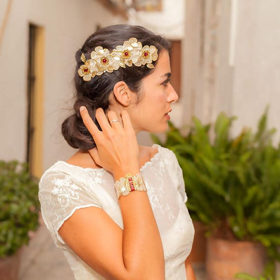 Wedding head piece FIRA