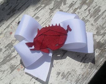Razorback Ribbon Sculpture Bow