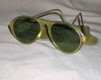 Vintage Green Lens Sun Glasses