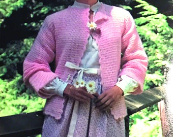 Sweet Country Crochet Sweater Digital Download Instant Download