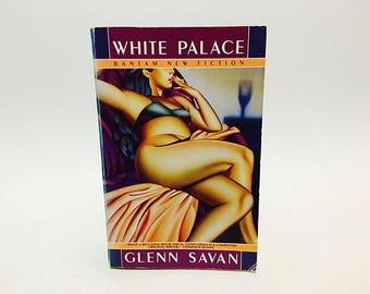 Vintage Pop Culture Book White Palace by Glenn Savan 1987 Softcover