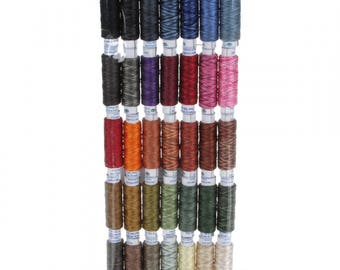 Valdani Thread Collection Pearl Silk Palette Hand-dyed 35 Spool Hand or Machine