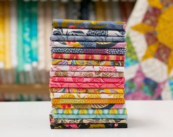 Floral Waterfall - Half Yard Fabric Bundle by Shannon Newlin - 19 prints
