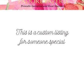Custom Listing Jackie