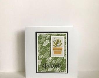 Get Well Handmade Card
