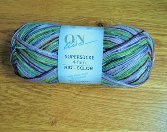Online Supersocke Rio Color with Aloe and Jojoba