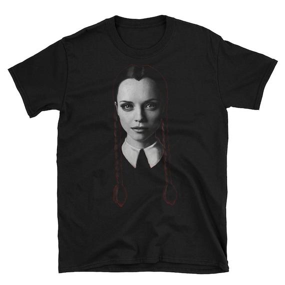 Wednesday Addams Short-Sleeve Unisex T-Shirt
