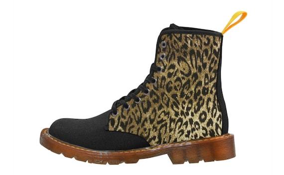 Leopard Print boots Ladies