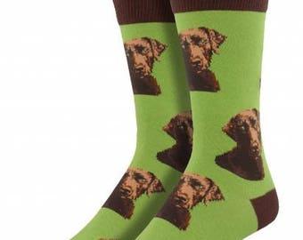Mens Labrador Dog Socks