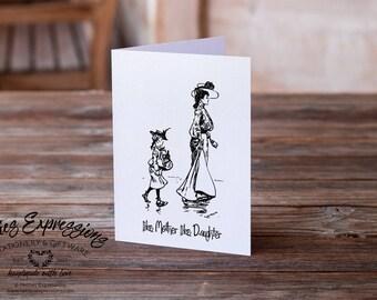 Like Mother Like Daughter, Birthday Card, Greeting Card, Mom, Birthday Card, Happy Birthday Card, Mother Birthday Card, Mother's Day, Mother
