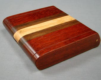 Pick Box, Wooden Keepsake Box, Cigarettr Holder, Stash Box