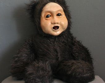 Original Handmade Scary Teddy Bear