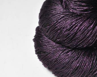 Mashed cherries - Cordonnette Silk Fingering Yarn