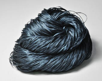 Face of fear - Silk Tape Lace Yarn - SUMMER EDITION