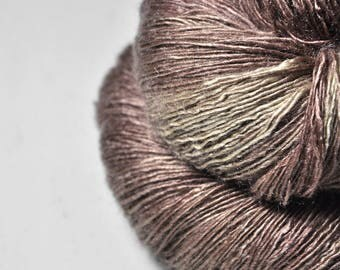 Driving me crazy OOAK - Tussah Silk Lace Yarn